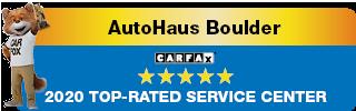 AutoHaus CarFax Certified Service Center